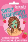 SWEET raspberry mask z maliną